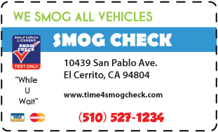 Smog test coupons concord ca